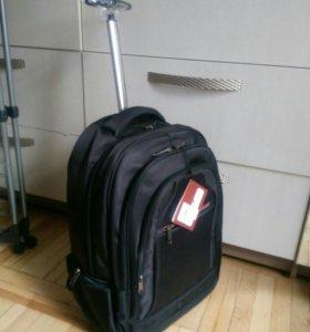 Рюкзак с колесиками