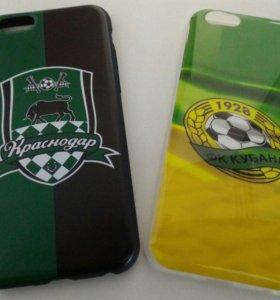 Чехлы на iPhone футбольной тематики