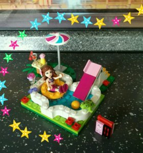 Лего Friends: Маленький бассейн Оливии