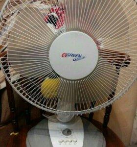 Вентилятор настольный.возможна доставка