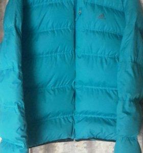 Куртка адидас зимняя и штаны джогеры