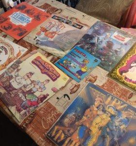 Виниловые пластинки детских сказок