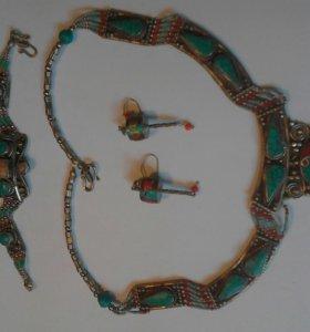 Тибетское украшение (комплект)