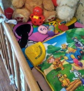 Кровать новая, матрац + подарки
