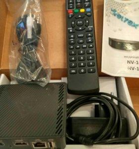 Медиацентр enter nv100 +беспро-ой сетевой USB адап