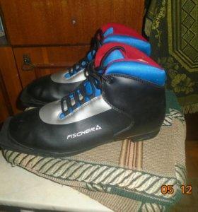 Лыжные ботинки новые! Fischer
