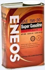 Моторное масло eneos Gasoline 5w30