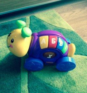 Fisher price игрушка музыкальная улитка