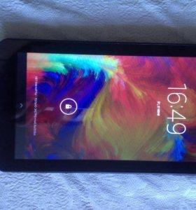 Планшет 7 дюймов, 3G, 4гб встроенной + флешка 16гб