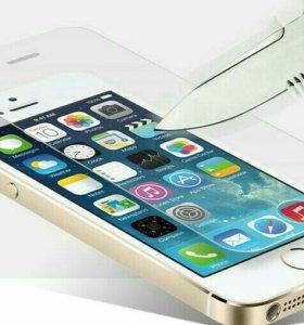 Защитное стекло на iphone 6/ 6plus/ 7