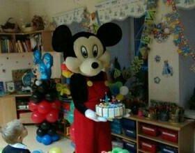 Микки Маус на детский праздник!