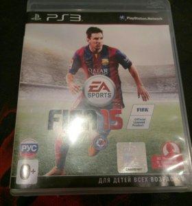 Игра на ps3 Fifa 15