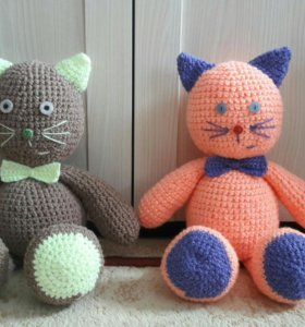 Вязаные игрушки на заказ (амигуруми)