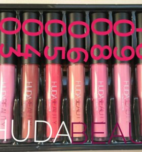 Матовая  помада Huda Beauty Liquid matte lipstick