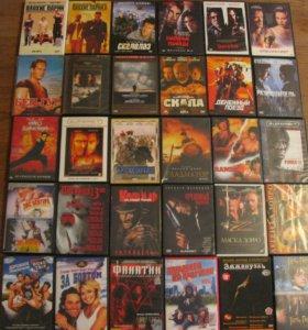 Фильмы, мультфильмы на dvd