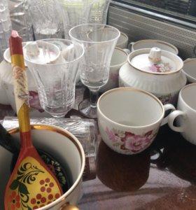 Наборы посуды советские