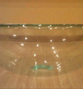 Раковина чаша стеклянная