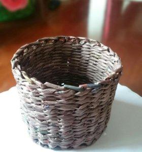 Корзина плетеная