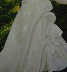 Свадебное платье+ бонус)