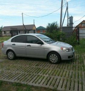 Hyundai verna 2007г