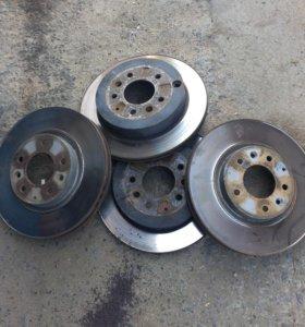 Тормозные диски комплект на мазду СХ-7