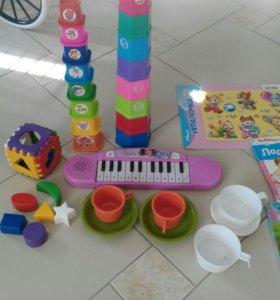 Пакет игрушки, книжки и т.д.