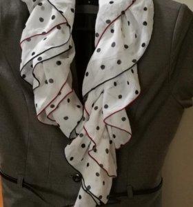 Жабо шарф