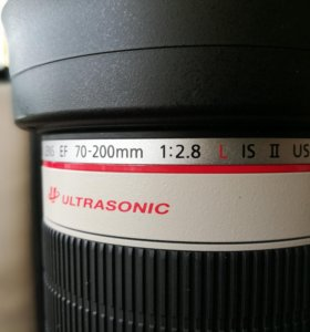 Canon lens 70 - 200 2.8 L IS II USM