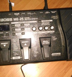 Процессор эффектов для электрогитары boss ME-25