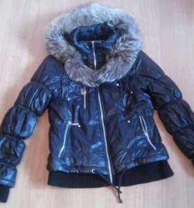 Куртка(с натур. мехом)