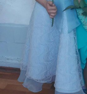 Платье с шубкой