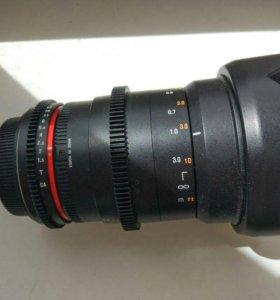 Объектив Samyang 35 mm T1.5 for Canon Гарантия