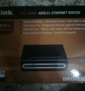 Ethernet-маршрутизатор Модем xDSL D-Link DSL-2500U
