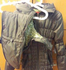 Куртка для беременных 3 в 1.
