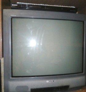 Двд плеер и телевизор SONY