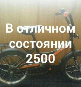 Велосипед для мальчика 3-7 лет