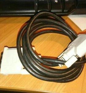 кабель DVI-D - DVI-D, 1.8м