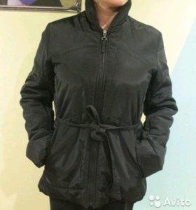 Куртка демисезонная утеплённая 46-48