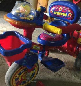 Продаю велосипед коляску с 10 месяцев