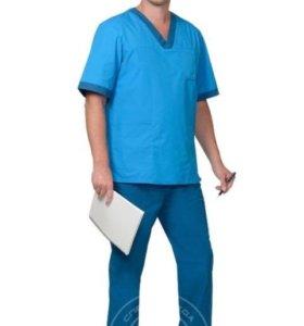 "Комплект ""медик"" (рубашка, брюки, колпак)"