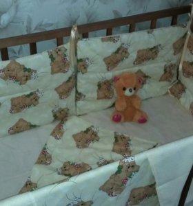 Комплект в дет.кроватку