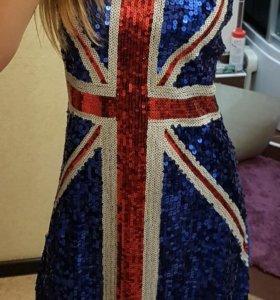 Платье в пайетках Великобритания