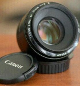 Canon EF 50/1,8 II.