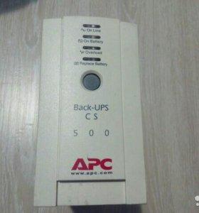 Ибп APC back UPS CS 500