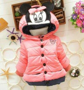 Куртка с капюшоном MINNIE MOUSE для девочек