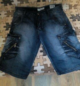 Продам мужские шорты джинсы.облегченные.