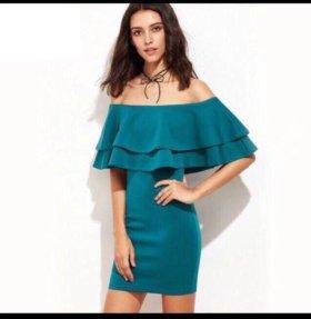 Новое платье с оборками и рюшками