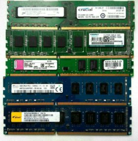 DDR3 4Gb 2х сторонние