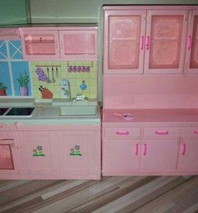 Игровая кухня+Мини Маркет в подарок