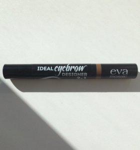 Для бровей Eva mosaic ideal eyebrow designer